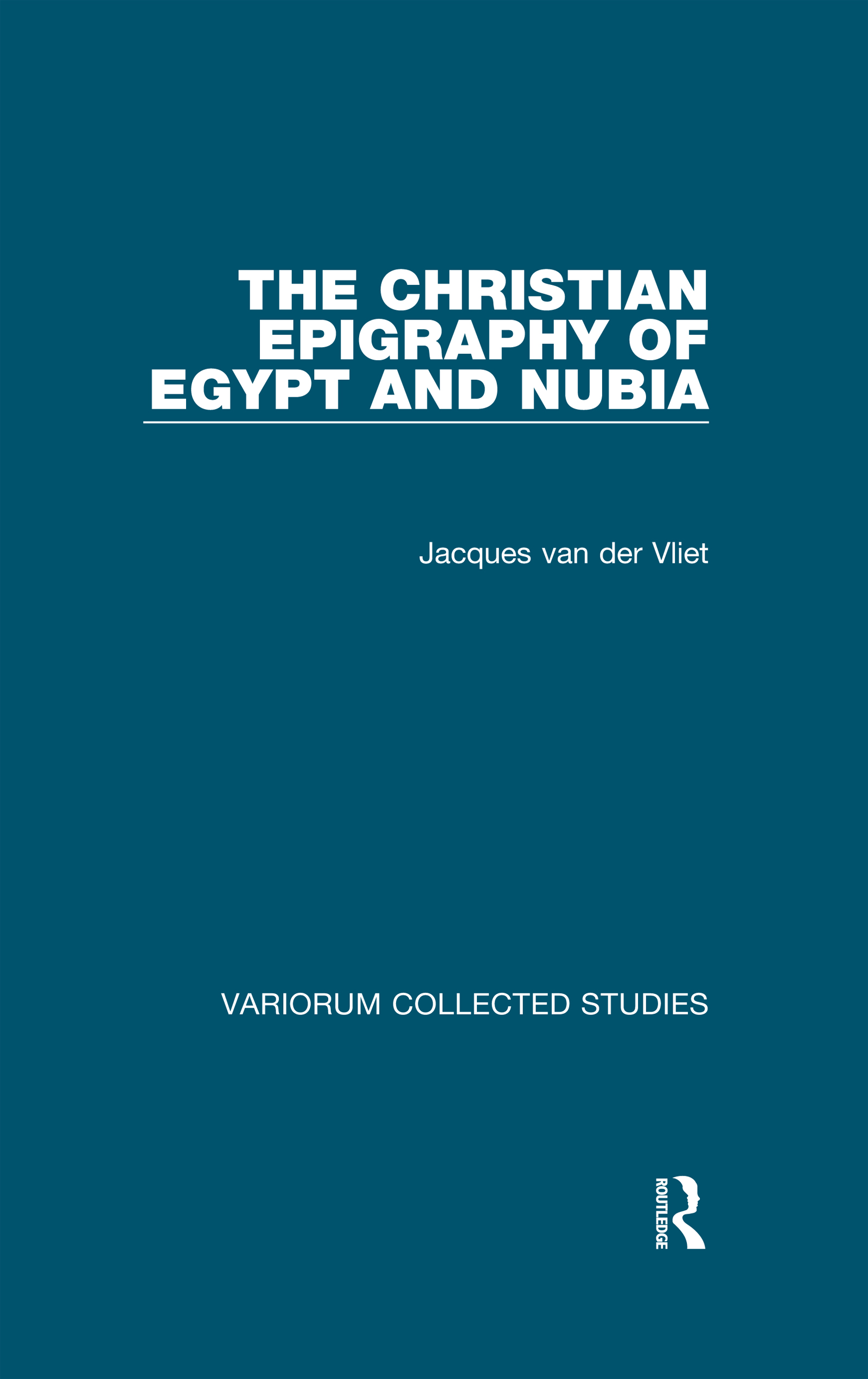 The Christian Epigraphy of Egypt and Nubia