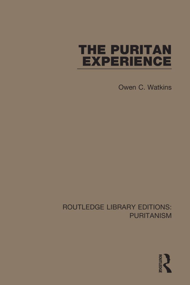 The Puritan Experience