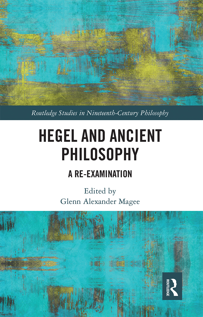 On the Speculative Significance of Anaxagoras in Hegel's Lectures