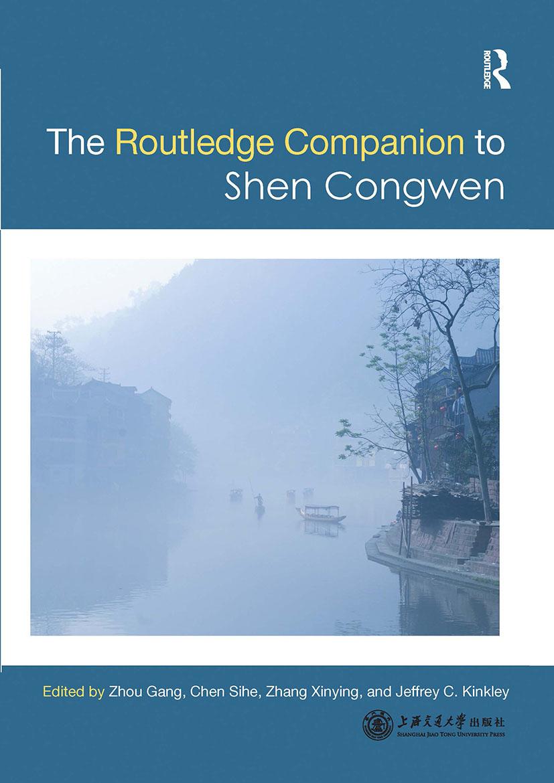 Routledge Companion to Shen Congwen