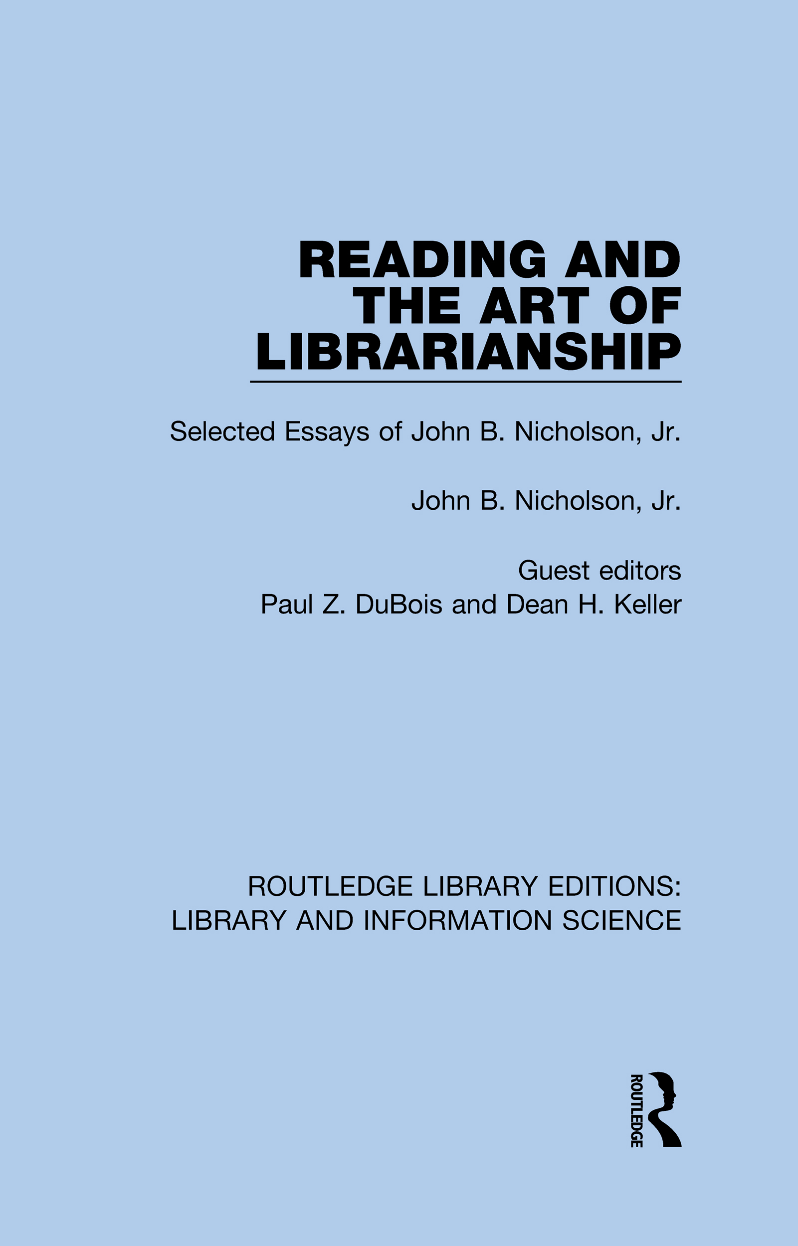 Reading and the Art of Librarianship