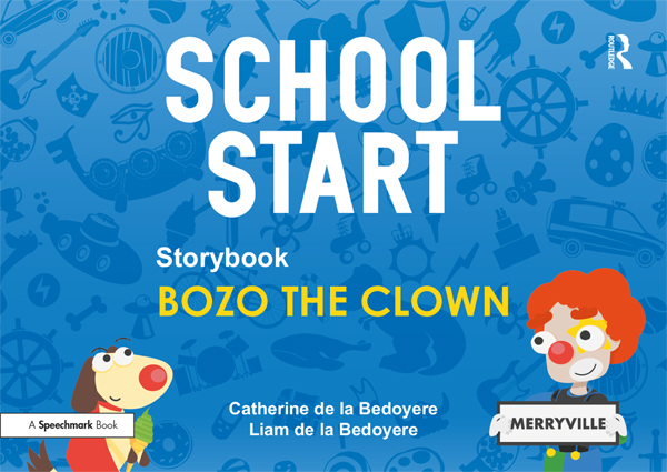 School Start Storybooks: Bozo the Clown book cover