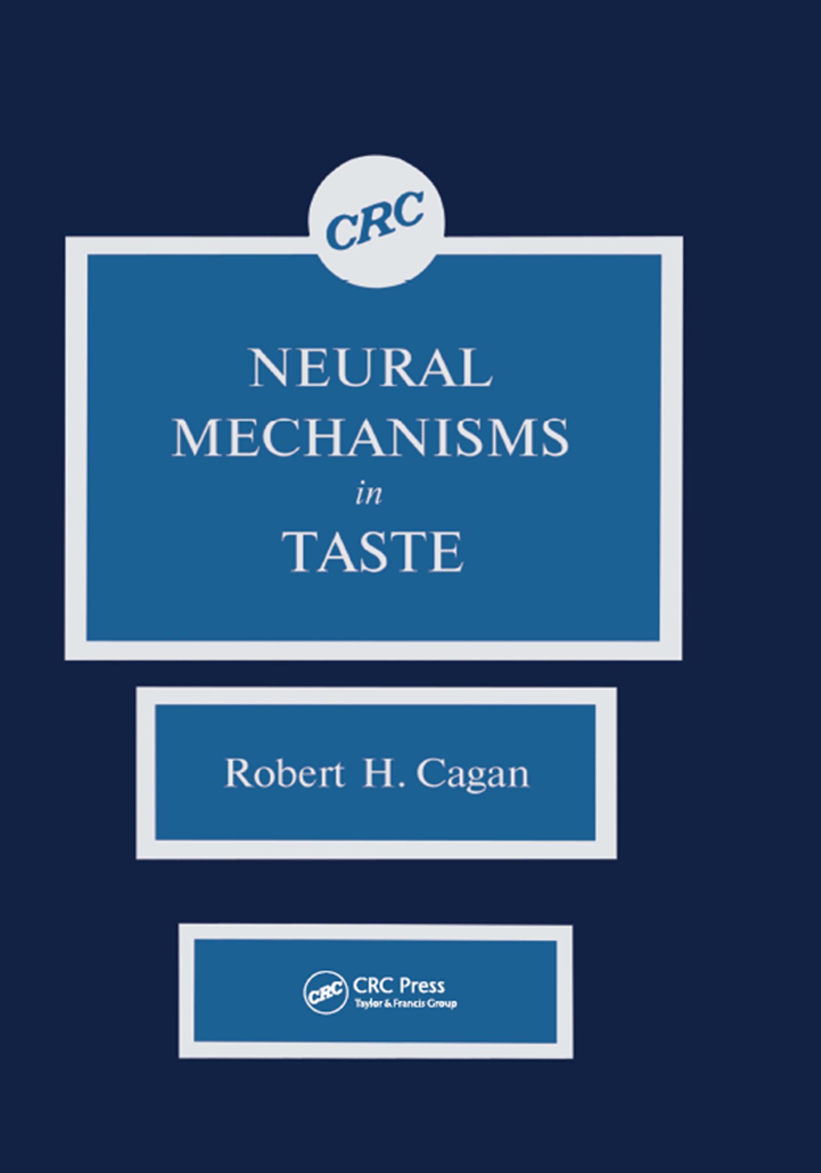 Neural Mechanisms in Taste book cover