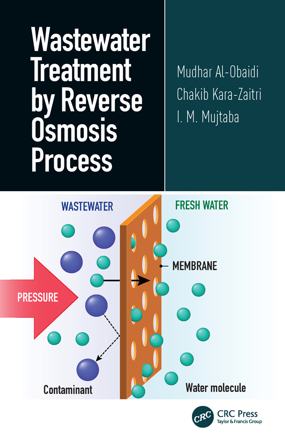 Wastewater Treatment by Reverse Osmosis Process: 1st Edition (Hardback) book cover