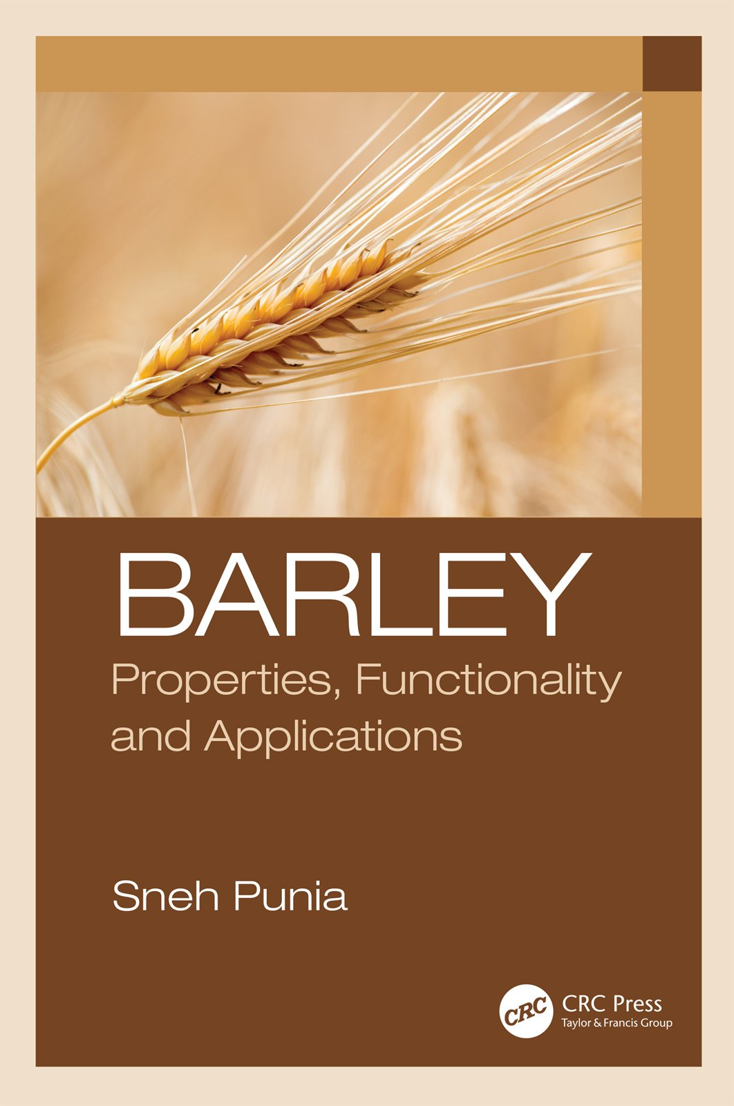 Barley: Properties, Functionality and Applications book cover