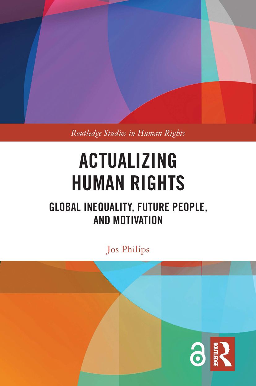 Actualizing Human Rights: Global Inequality, Future People, and Motivation, 1st Edition (Hardback) book cover