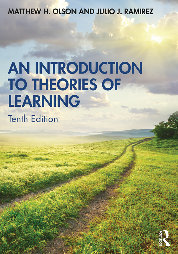 An Introduction to Theories of Learning book cover
