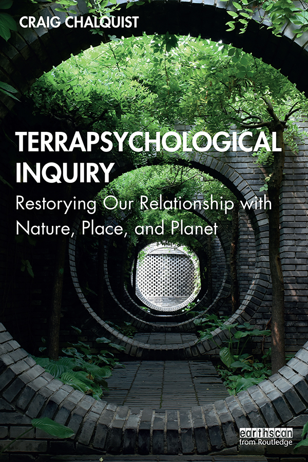 Terrapsychological Inquiry: Restorying Our Relationship with Nature, Place, and Planet book cover
