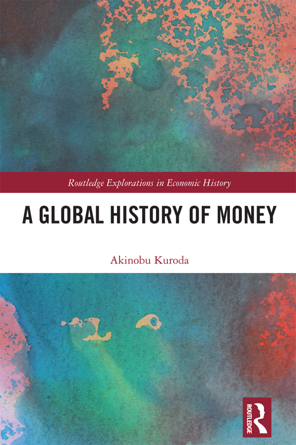 A Global History of Money: 1st Edition (Hardback) book cover