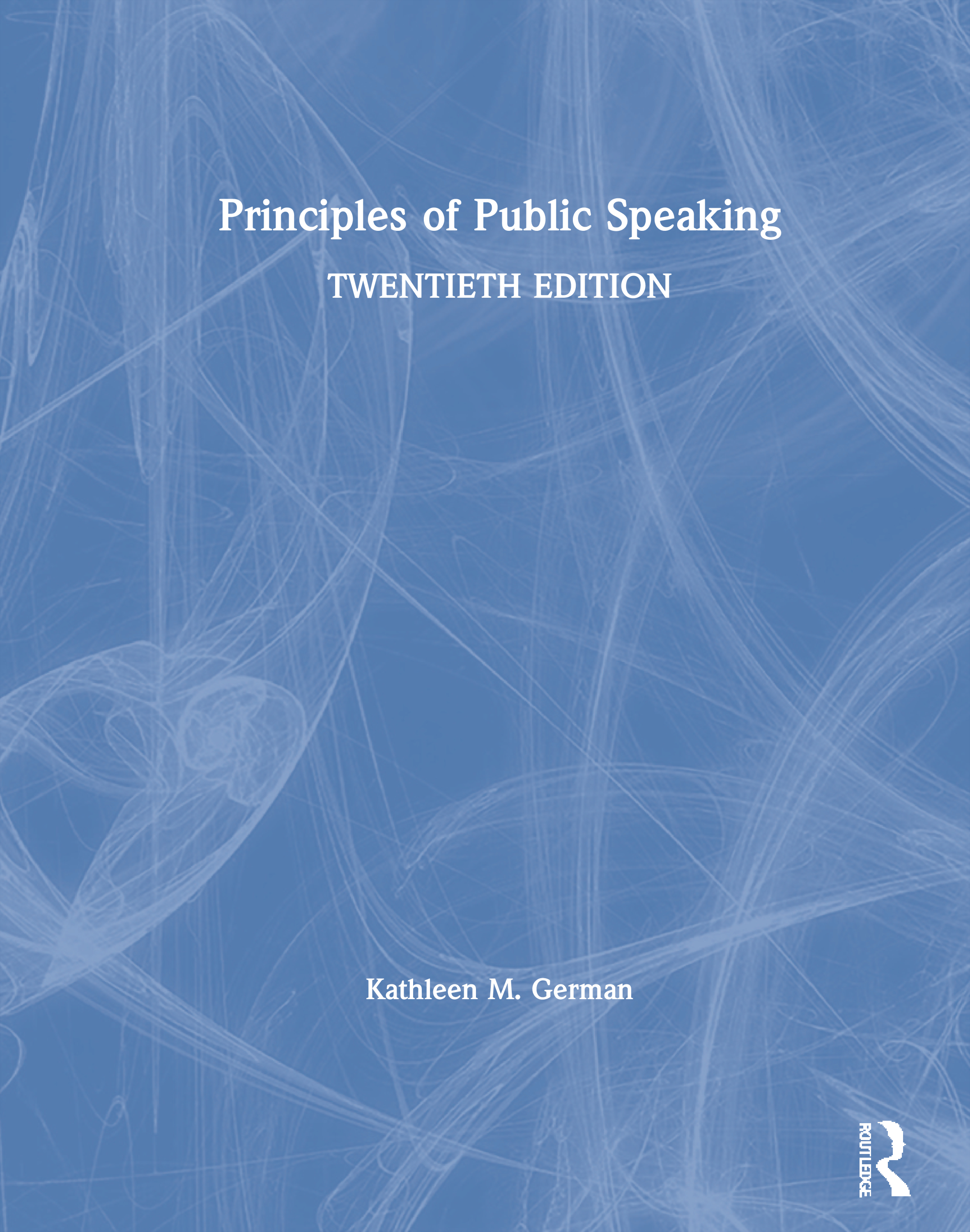 Principles of Public Speaking book cover