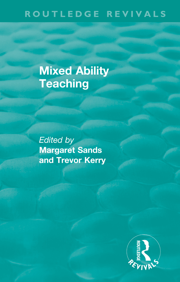 Mixed Ability Teaching book cover