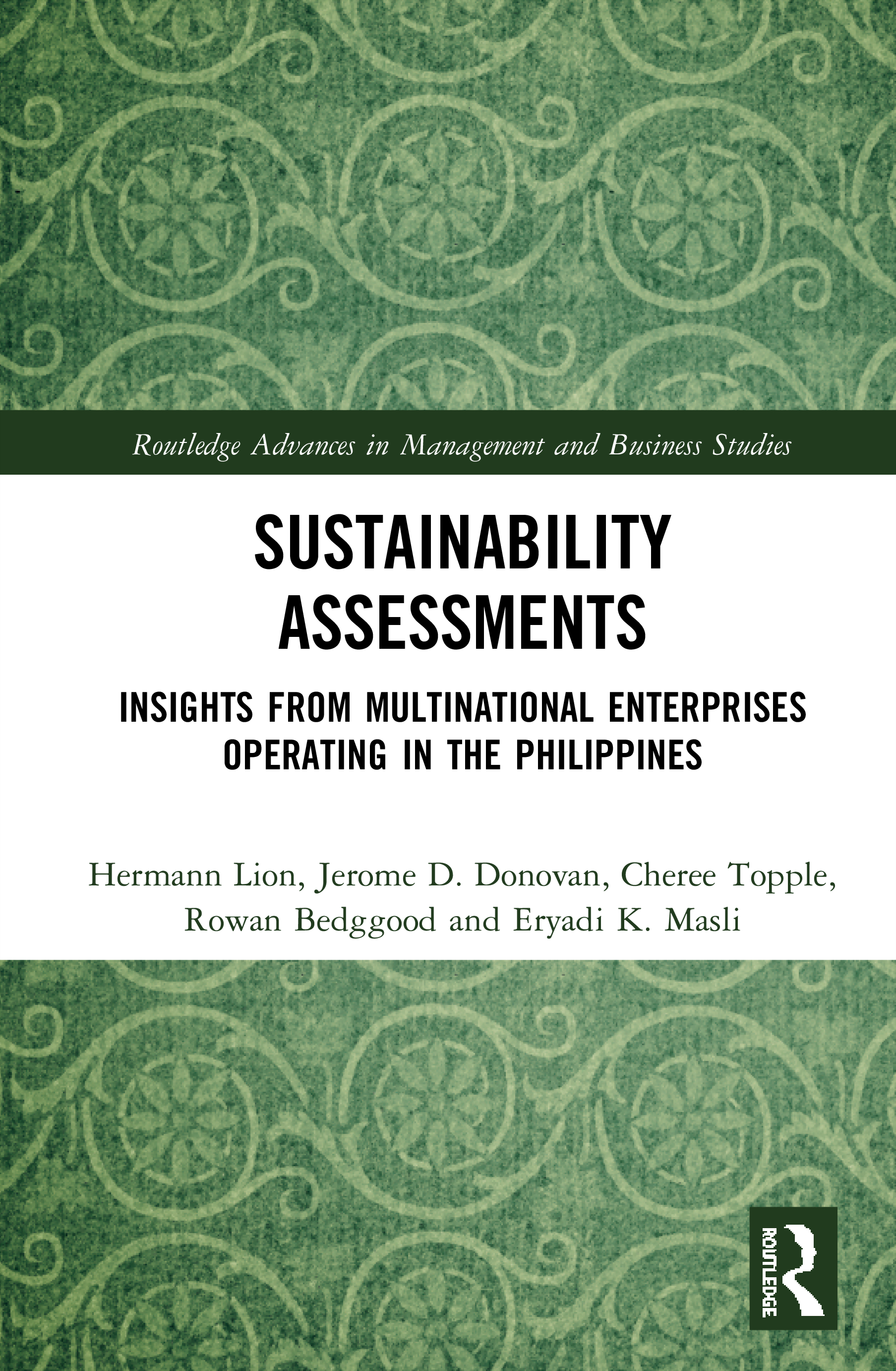 Sustainability Assessments: Insights from multinational enterprises operating in the Philippines book cover