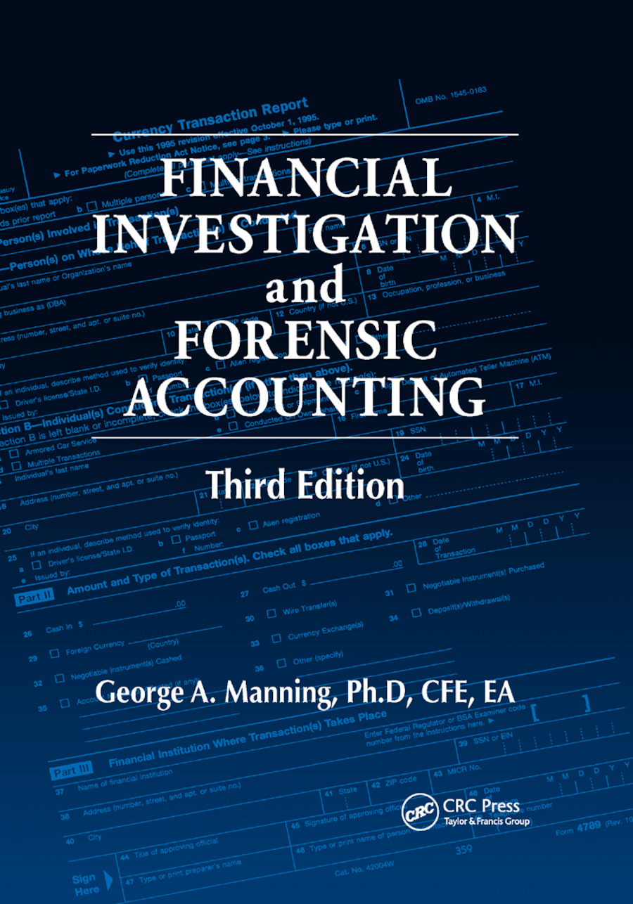 Financial Investigation and Forensic Accounting: 3rd Edition (Paperback) book cover