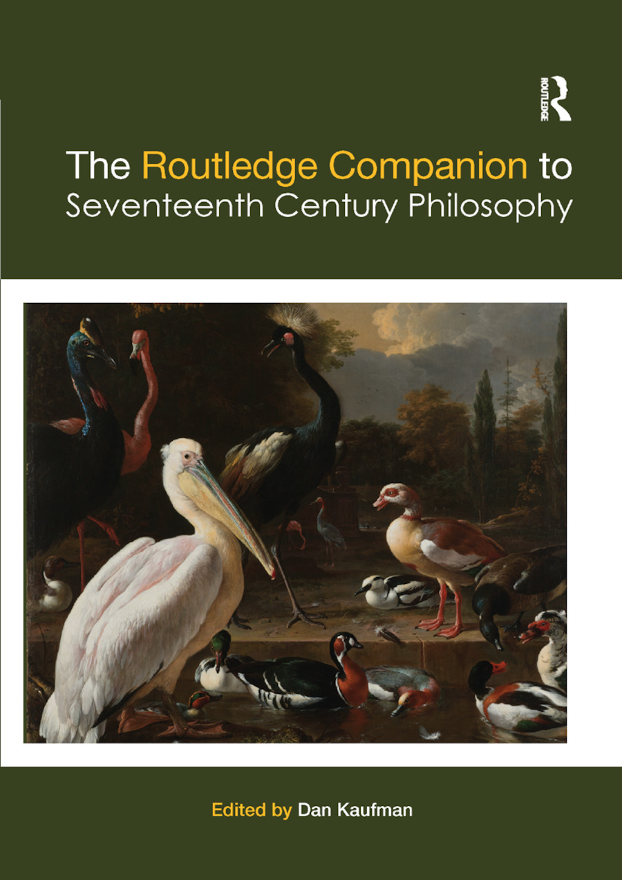 The Routledge Companion to Seventeenth Century Philosophy book cover