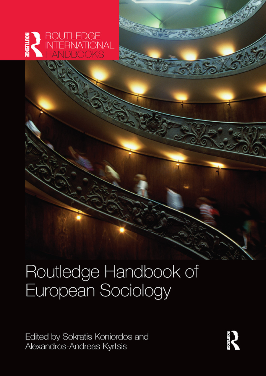 Routledge Handbook of European Sociology: 1st Edition (Paperback) book cover