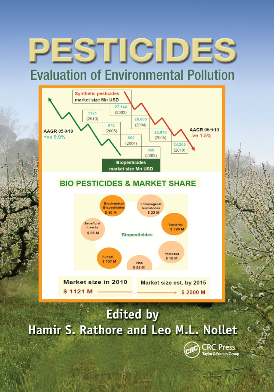 Pesticides: Evaluation of Environmental Pollution, 1st Edition (Paperback) book cover