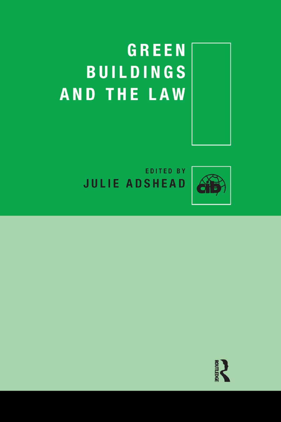Green Buildings and the Law book cover