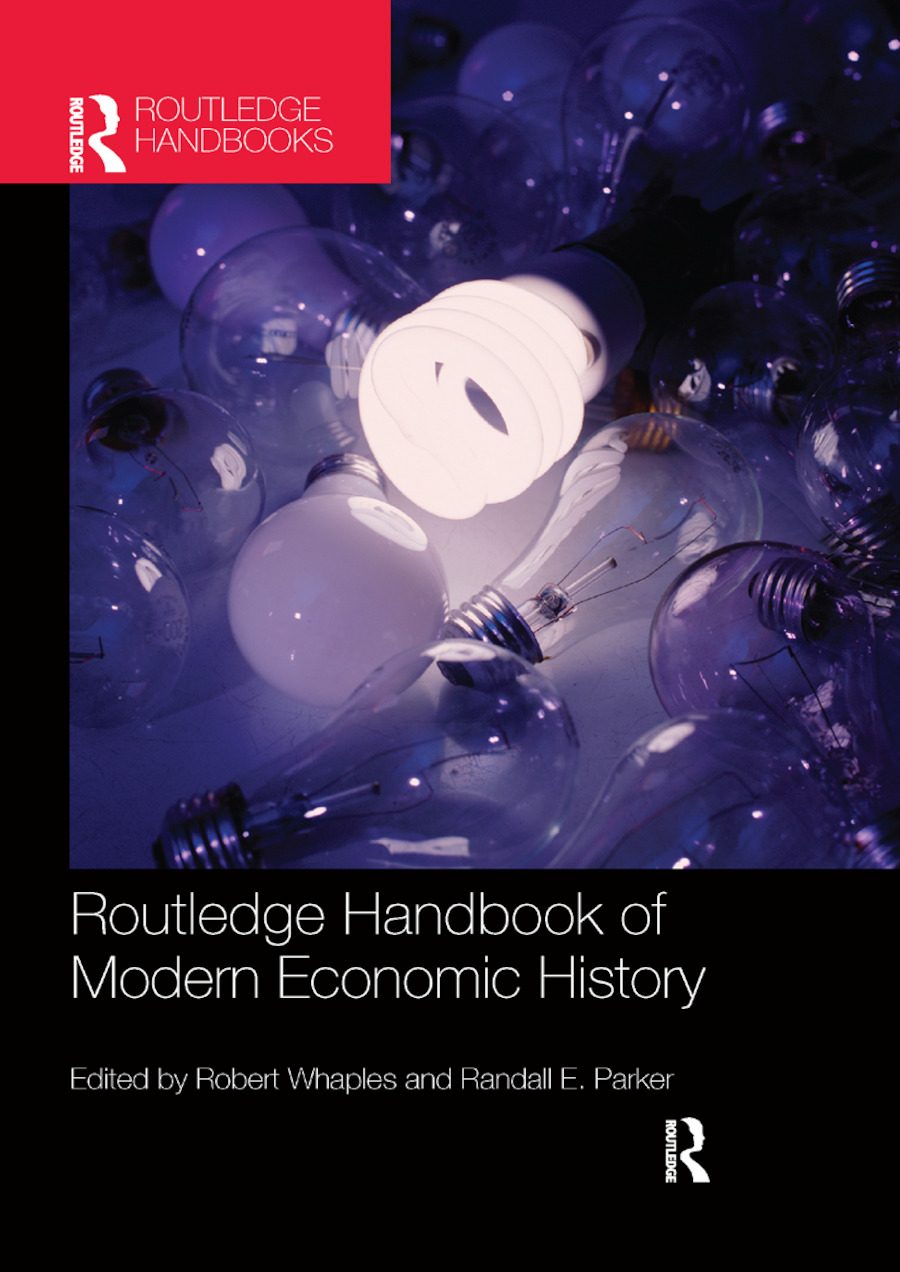 The Routledge Handbook of Modern Economic History book cover