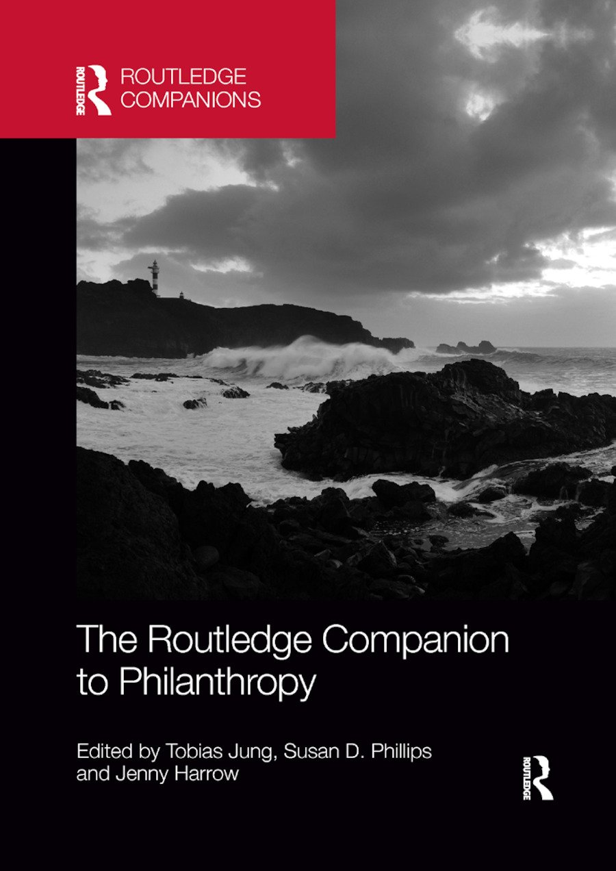 The Routledge Companion to Philanthropy: 1st Edition (Paperback) book cover