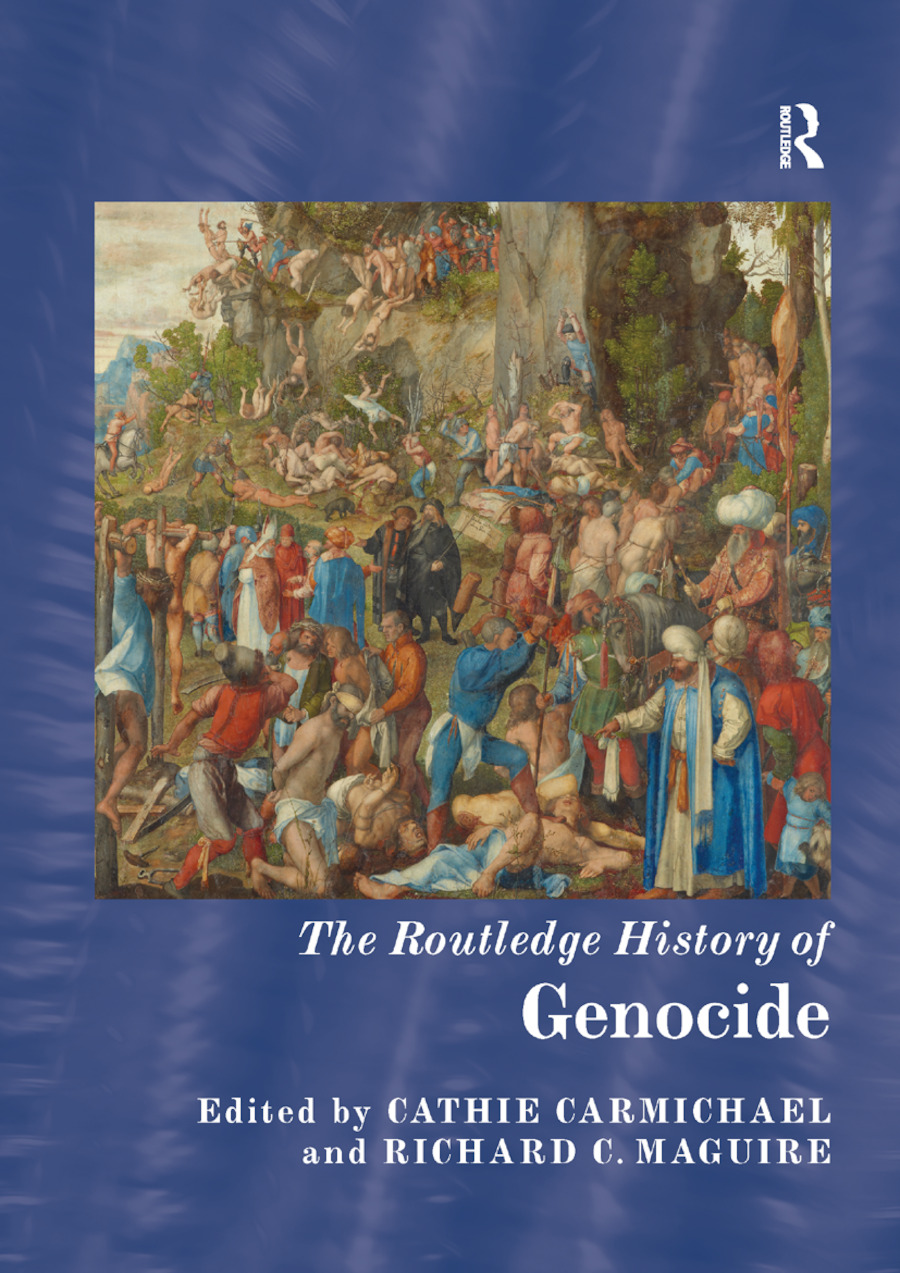 The Routledge History of Genocide book cover