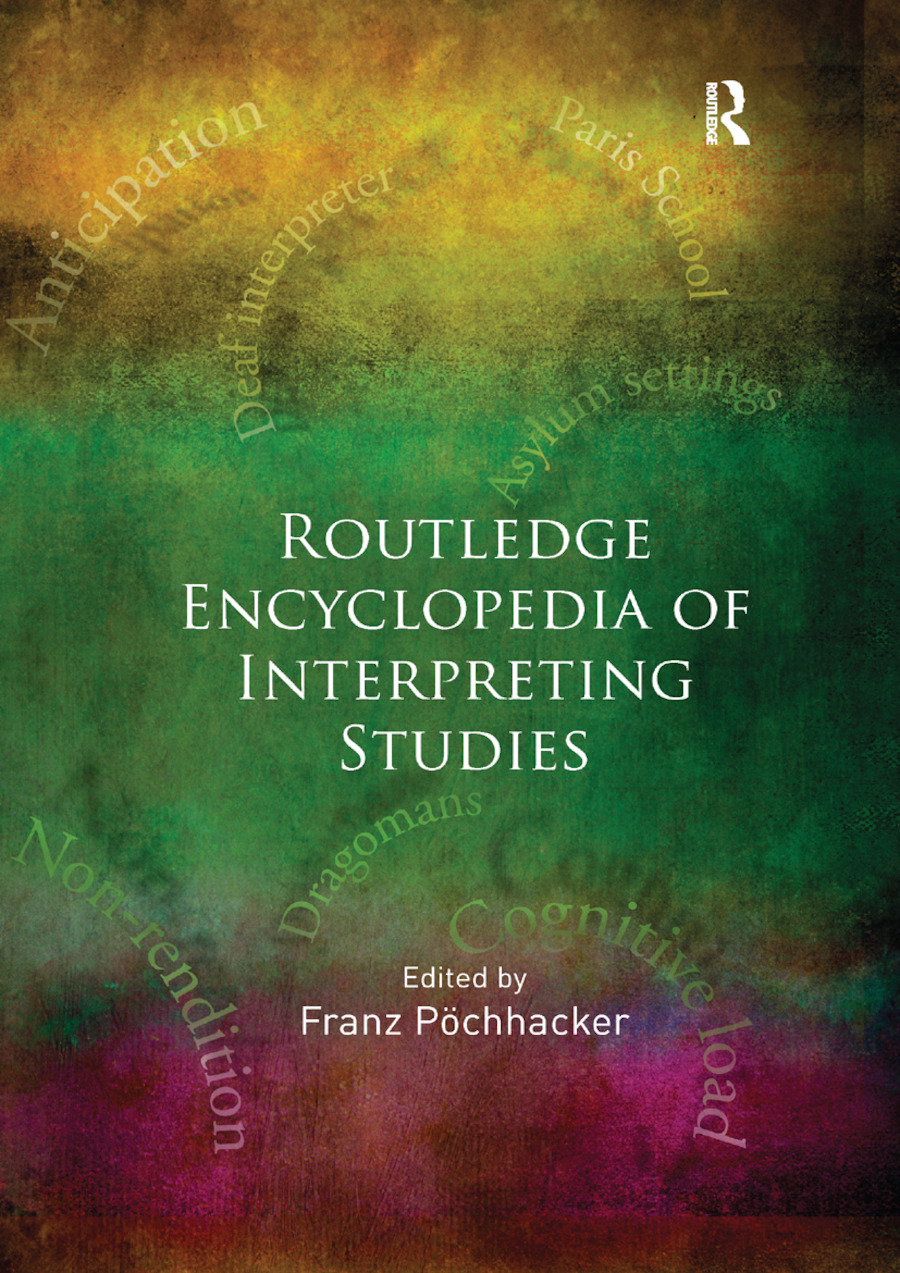 Routledge Encyclopedia of Interpreting Studies book cover