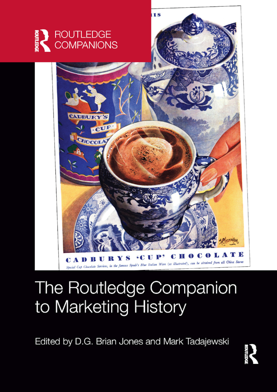 The Routledge Companion to Marketing History: 1st Edition (Paperback) book cover