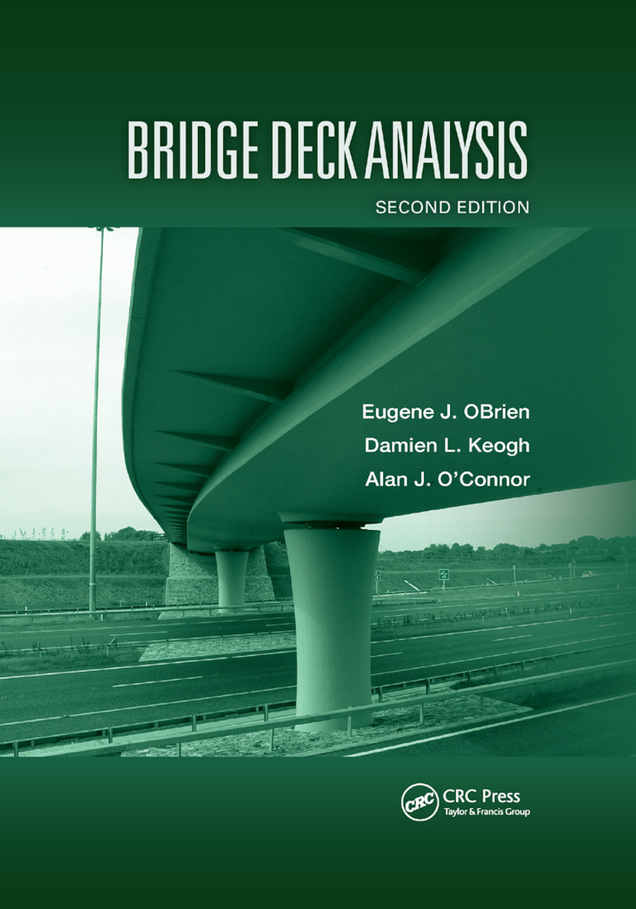 Bridge Deck Analysis: 2nd Edition (Paperback) book cover