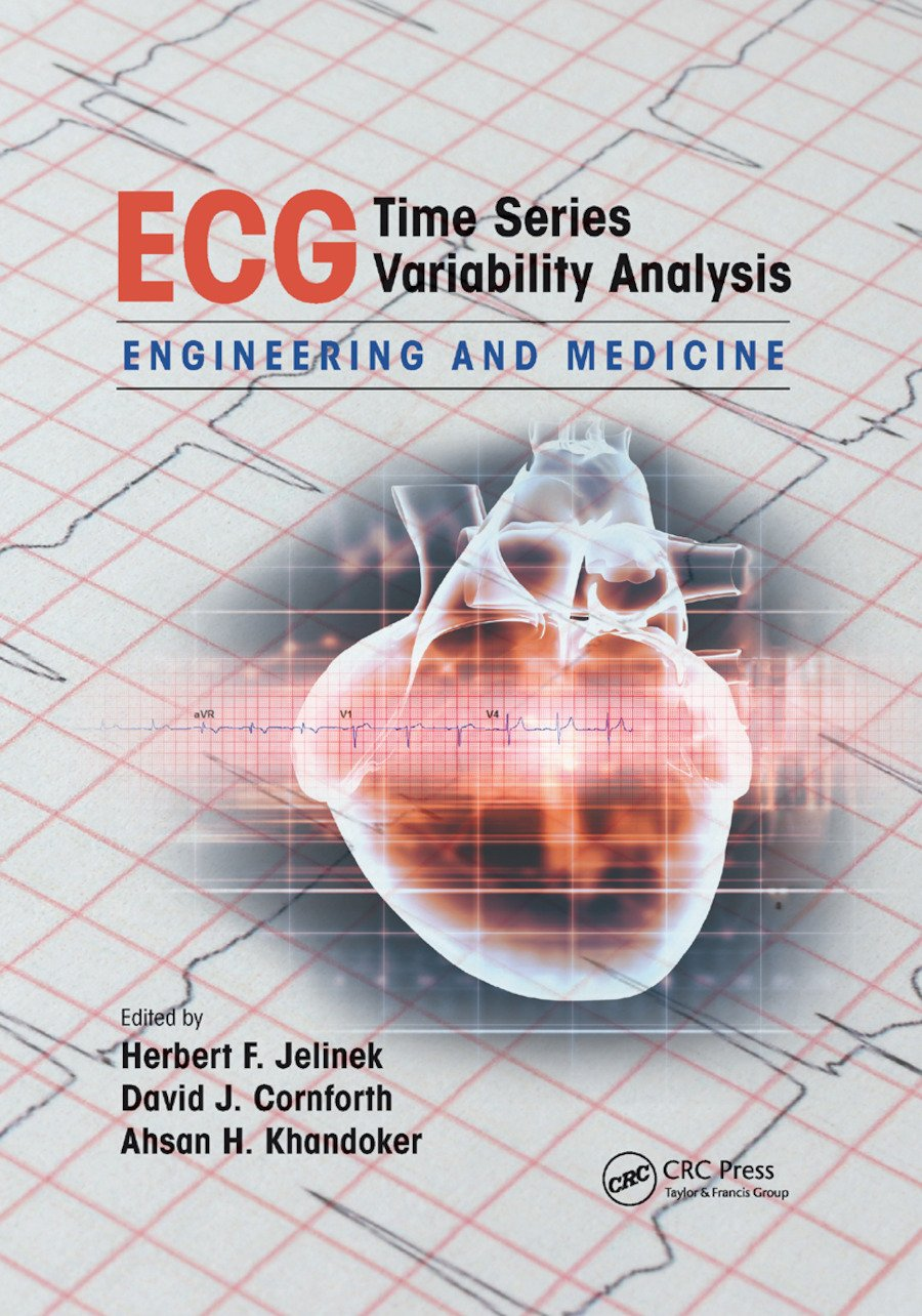ECG Time Series Variability Analysis: Engineering and Medicine, 1st Edition (Paperback) book cover
