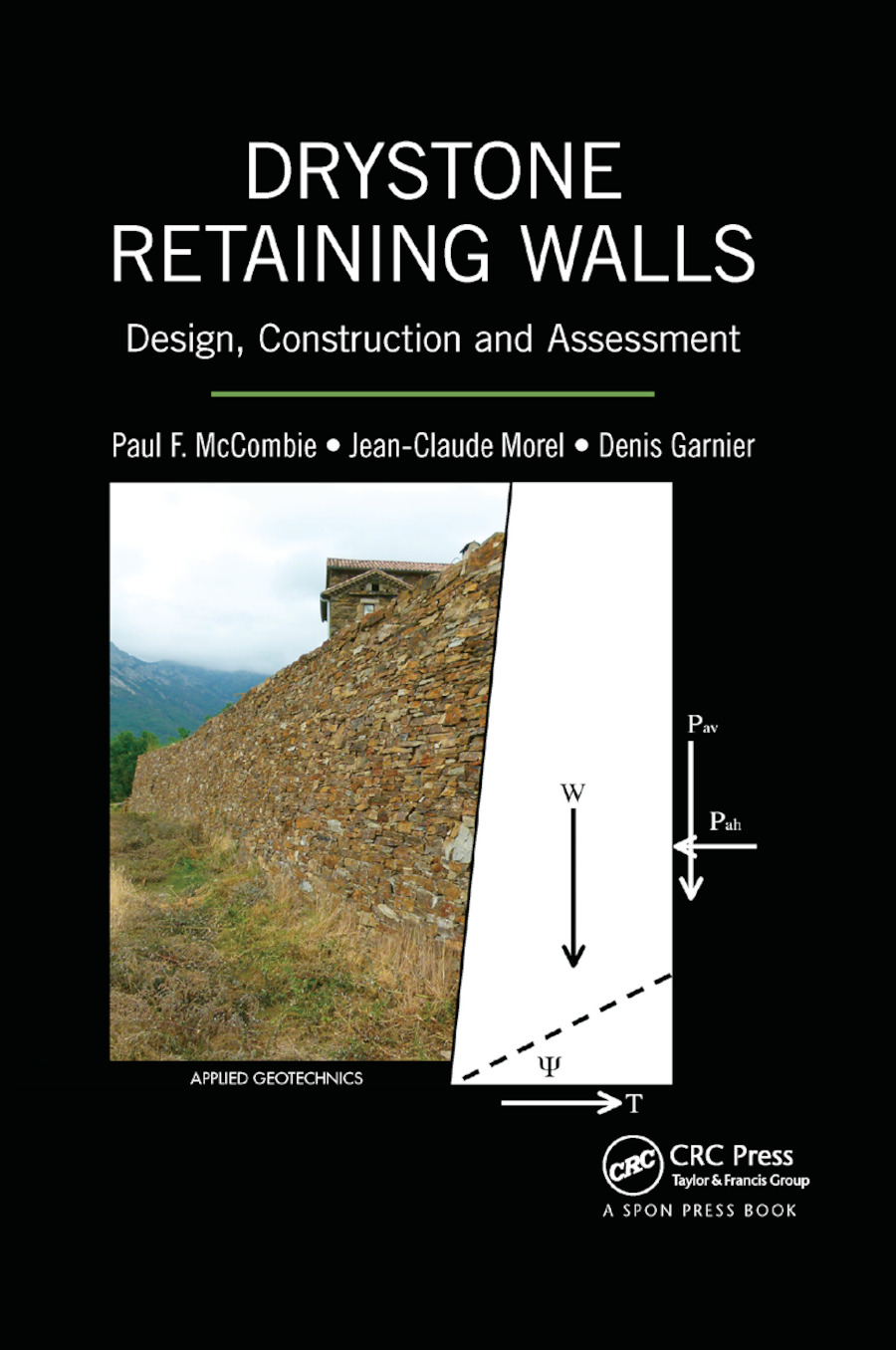 Drystone Retaining Walls: Design, Construction and Assessment, 1st Edition (Paperback) book cover