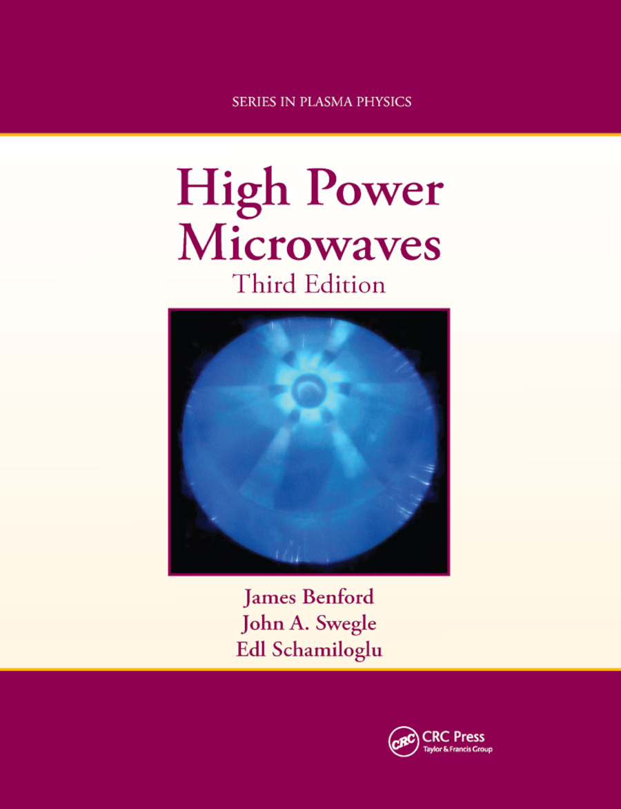 High Power Microwaves: 3rd Edition (Paperback) book cover
