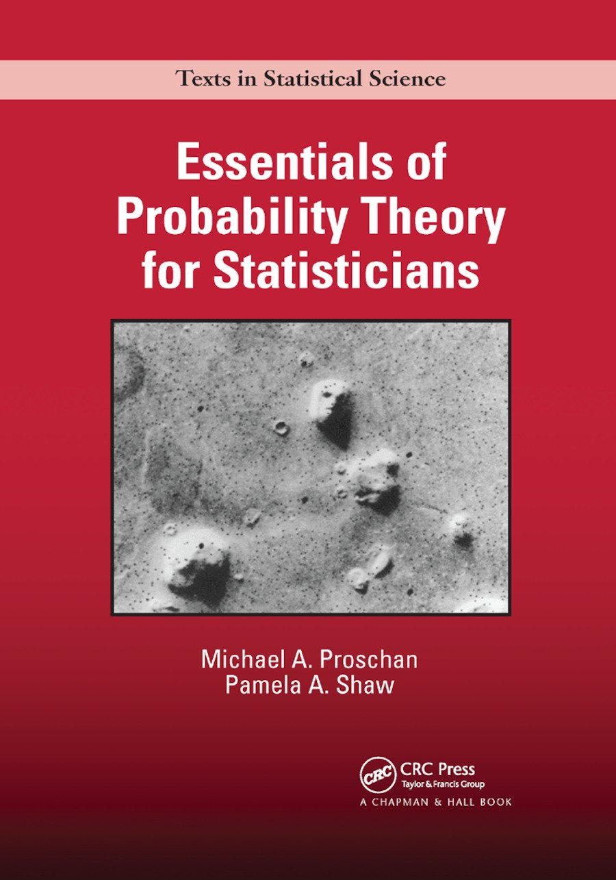 Essentials of Probability Theory for Statisticians: 1st Edition (Paperback) book cover