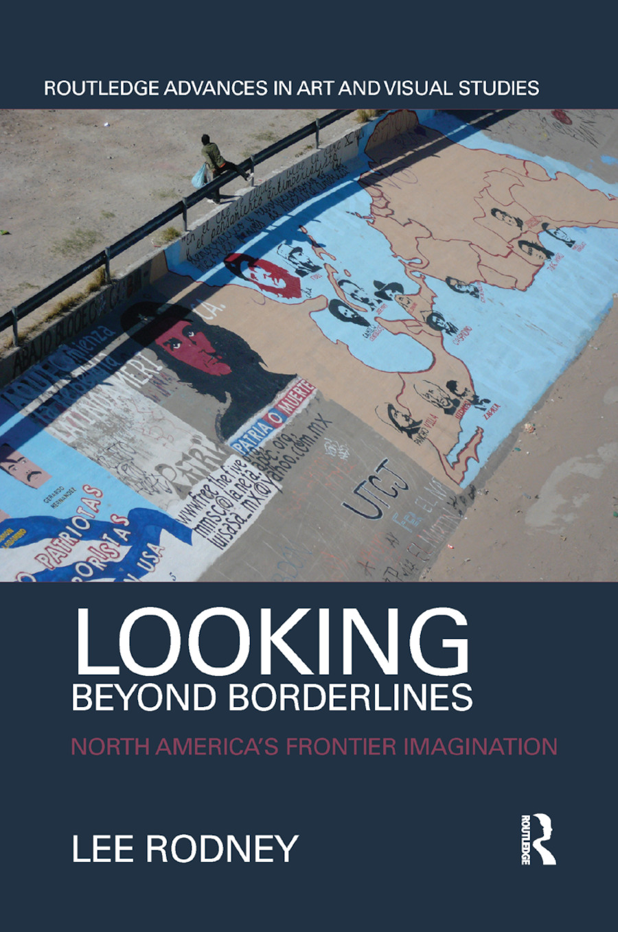 Looking Beyond Borderlines: North America's Frontier Imagination book cover