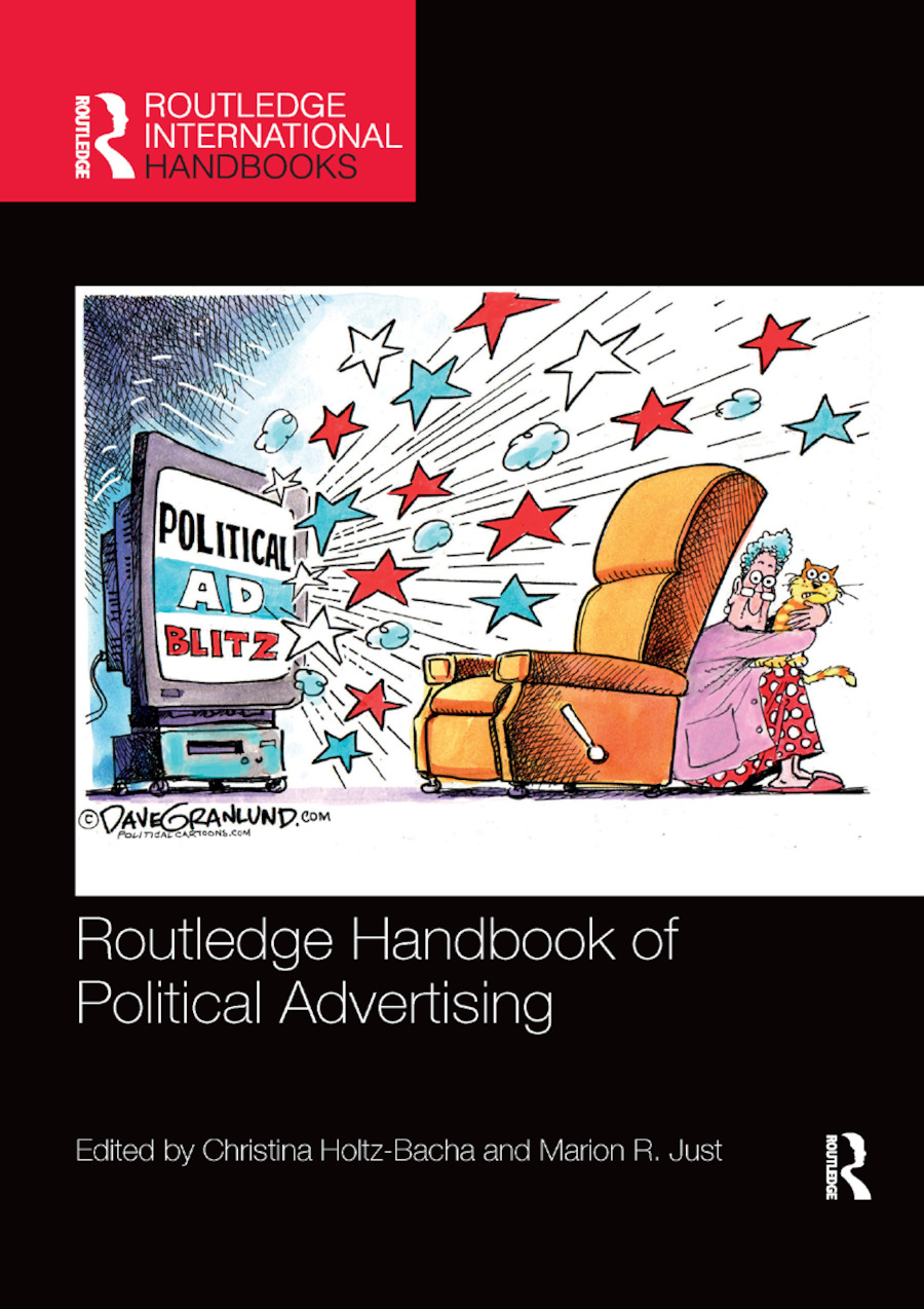 Routledge Handbook of Political Advertising book cover