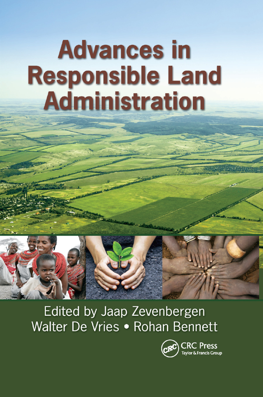 Advances in Responsible Land Administration: 1st Edition (Paperback) book cover