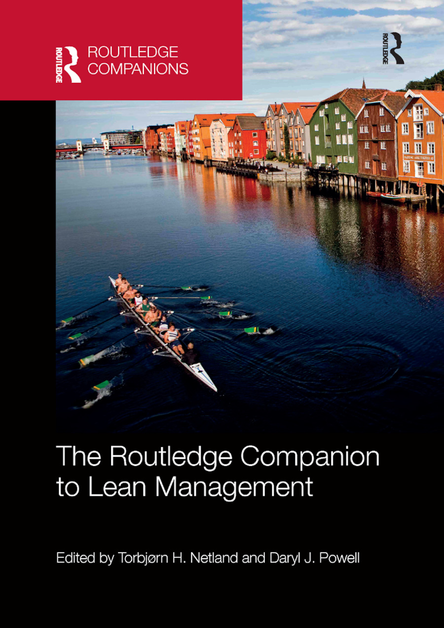 The Routledge Companion to Lean Management: 1st Edition (Paperback) book cover