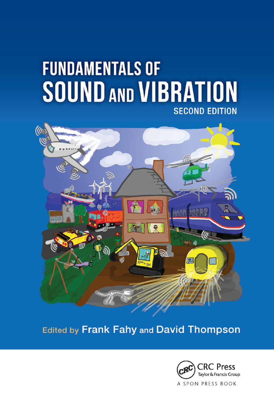 Fundamentals of Sound and Vibration: 2nd Edition (Paperback) book cover