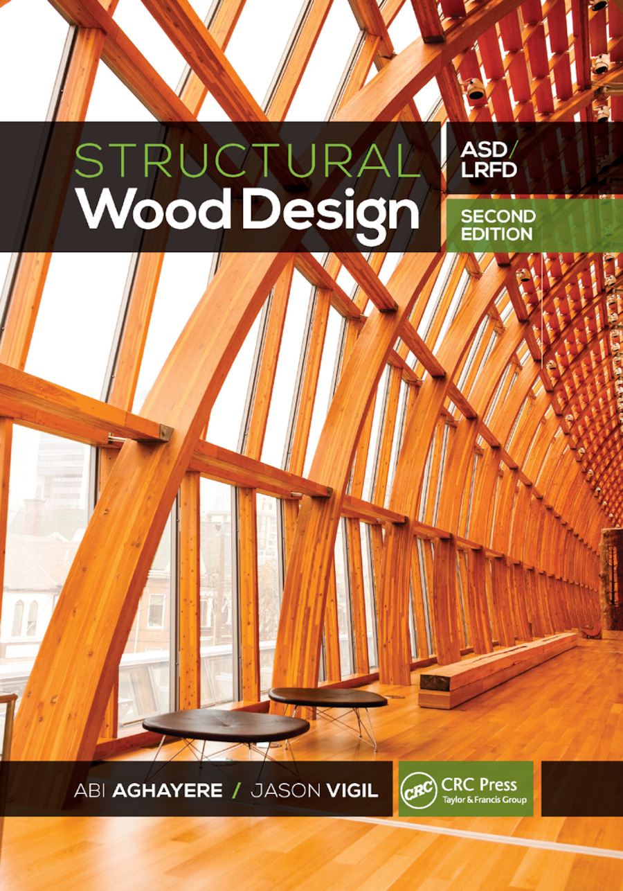 Structural Wood Design: ASD/LRFD, 2nd Edition (Paperback) book cover