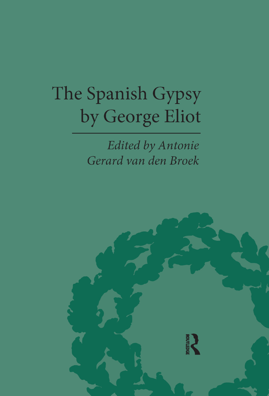The Spanish Gypsy by George Eliot book cover