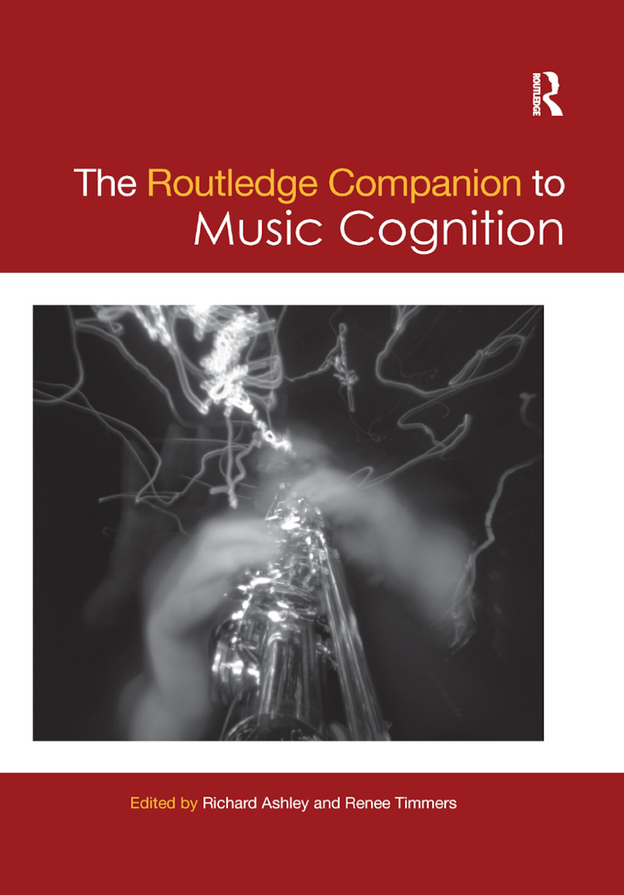 The Routledge Companion to Music Cognition: 1st Edition (Paperback) book cover
