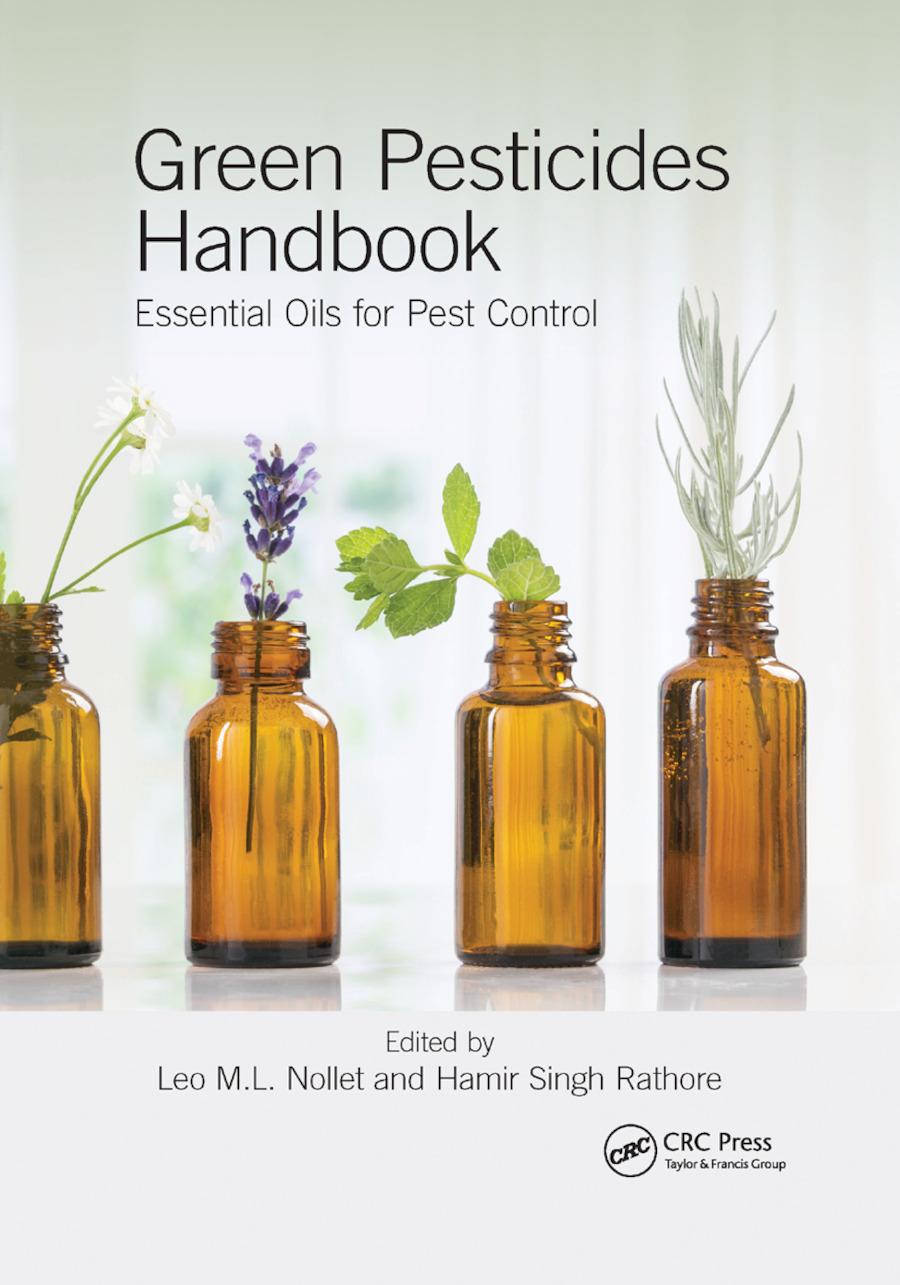Green Pesticides Handbook: Essential Oils for Pest Control, 1st Edition (Paperback) book cover