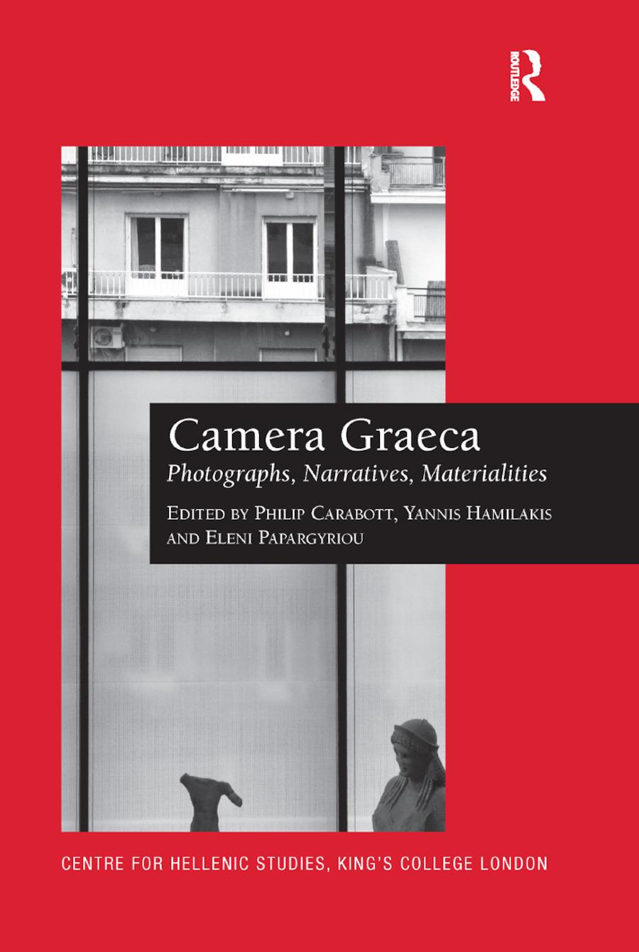 Camera Graeca: Photographs, Narratives, Materialities book cover