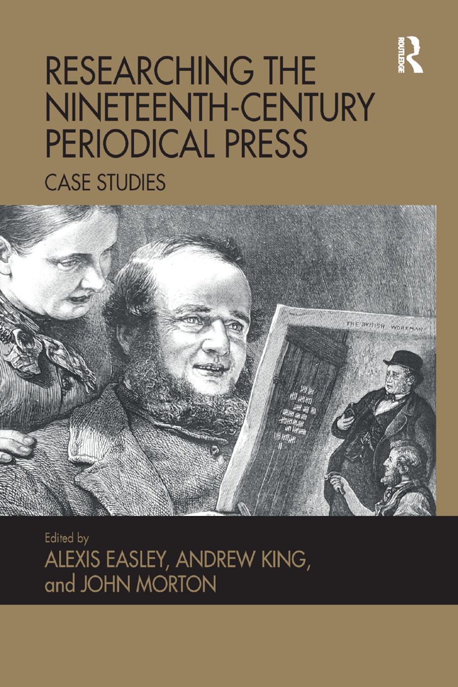 Researching the Nineteenth-Century Periodical Press: Case Studies book cover