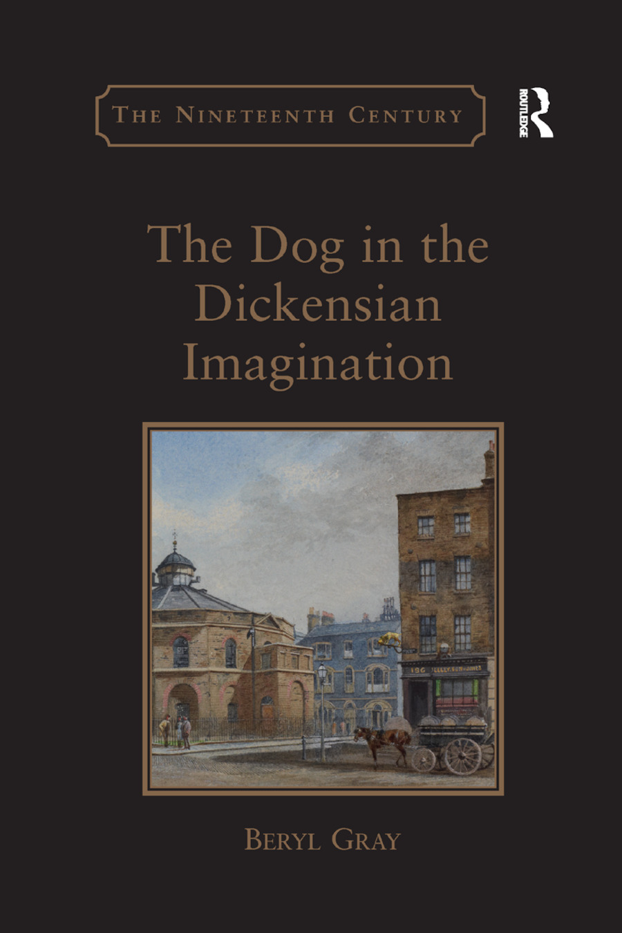 The Dog in the Dickensian Imagination book cover