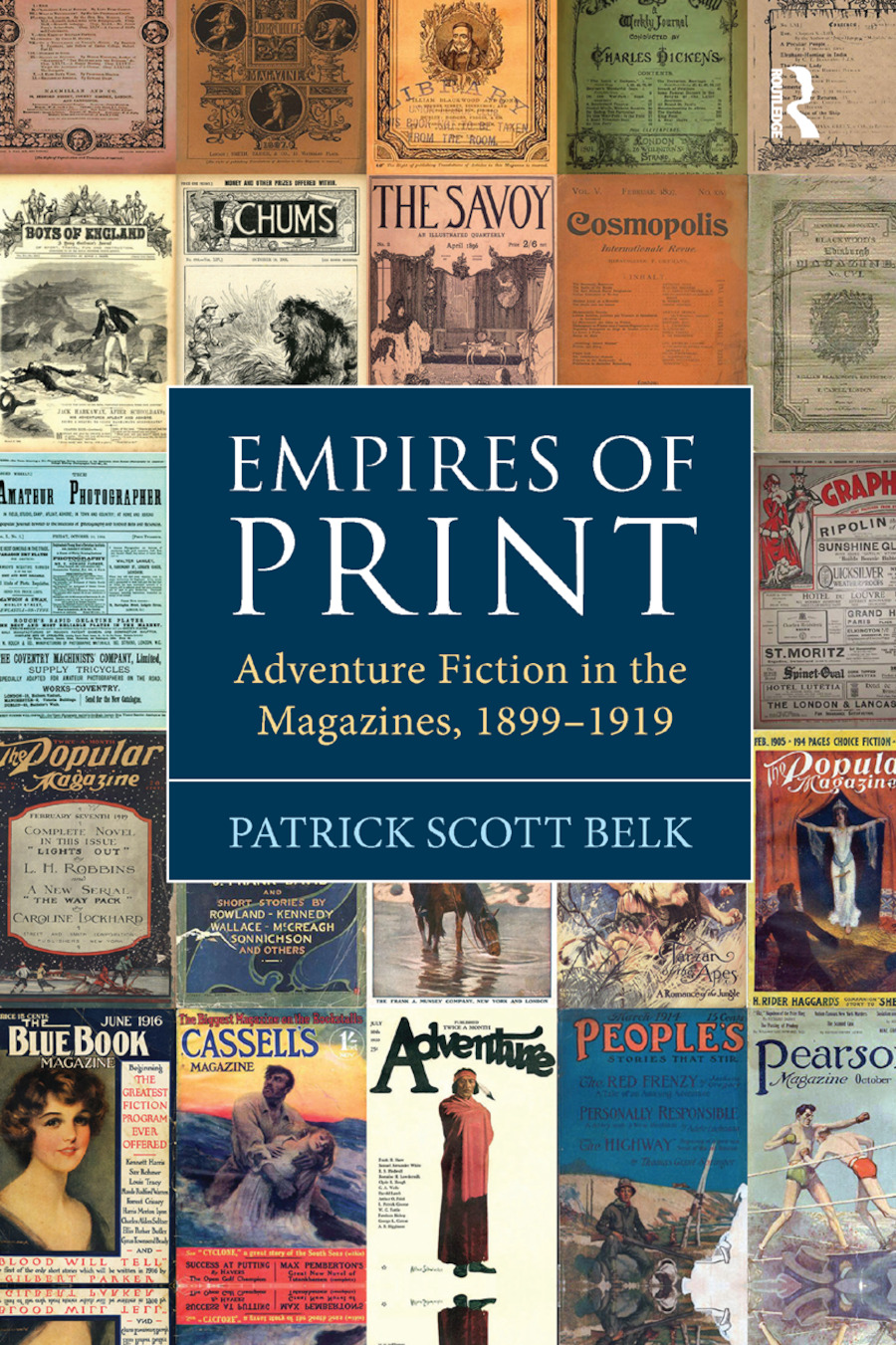 Empires of Print: Adventure Fiction in the Magazines, 1899-1919, 1st Edition (Paperback) book cover