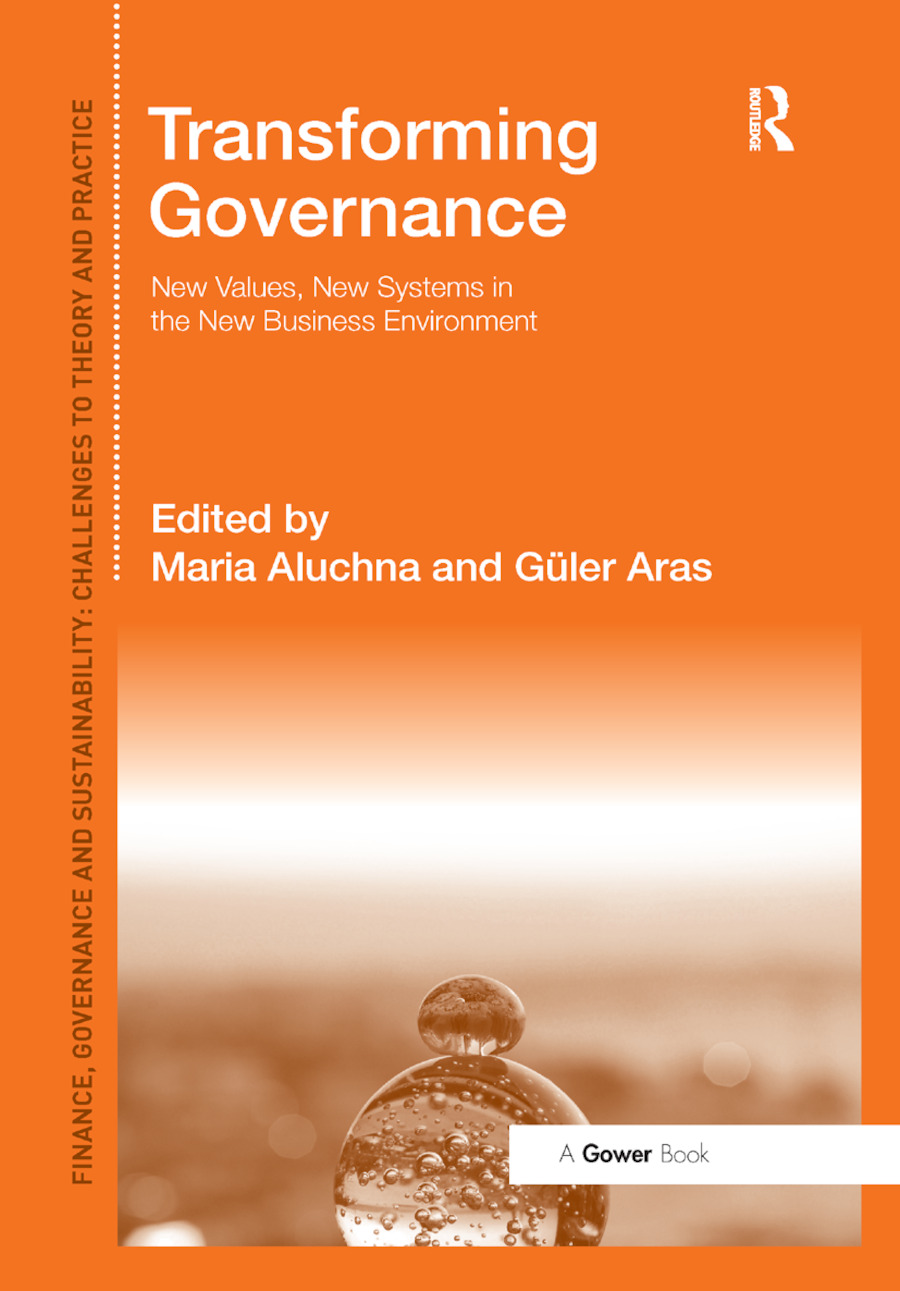 Transforming Governance: New Values, New Systems in the New Business Environment book cover