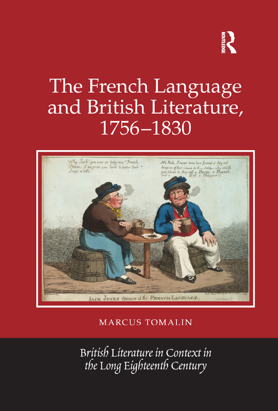 The French Language and British Literature, 1756-1830 book cover
