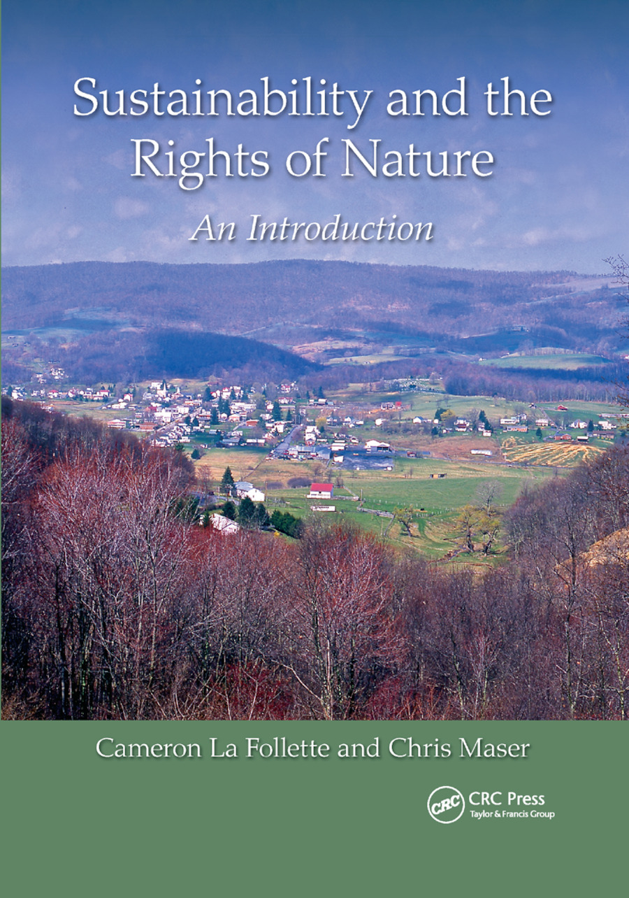 Sustainability and the Rights of Nature: An Introduction, 1st Edition (Paperback) book cover