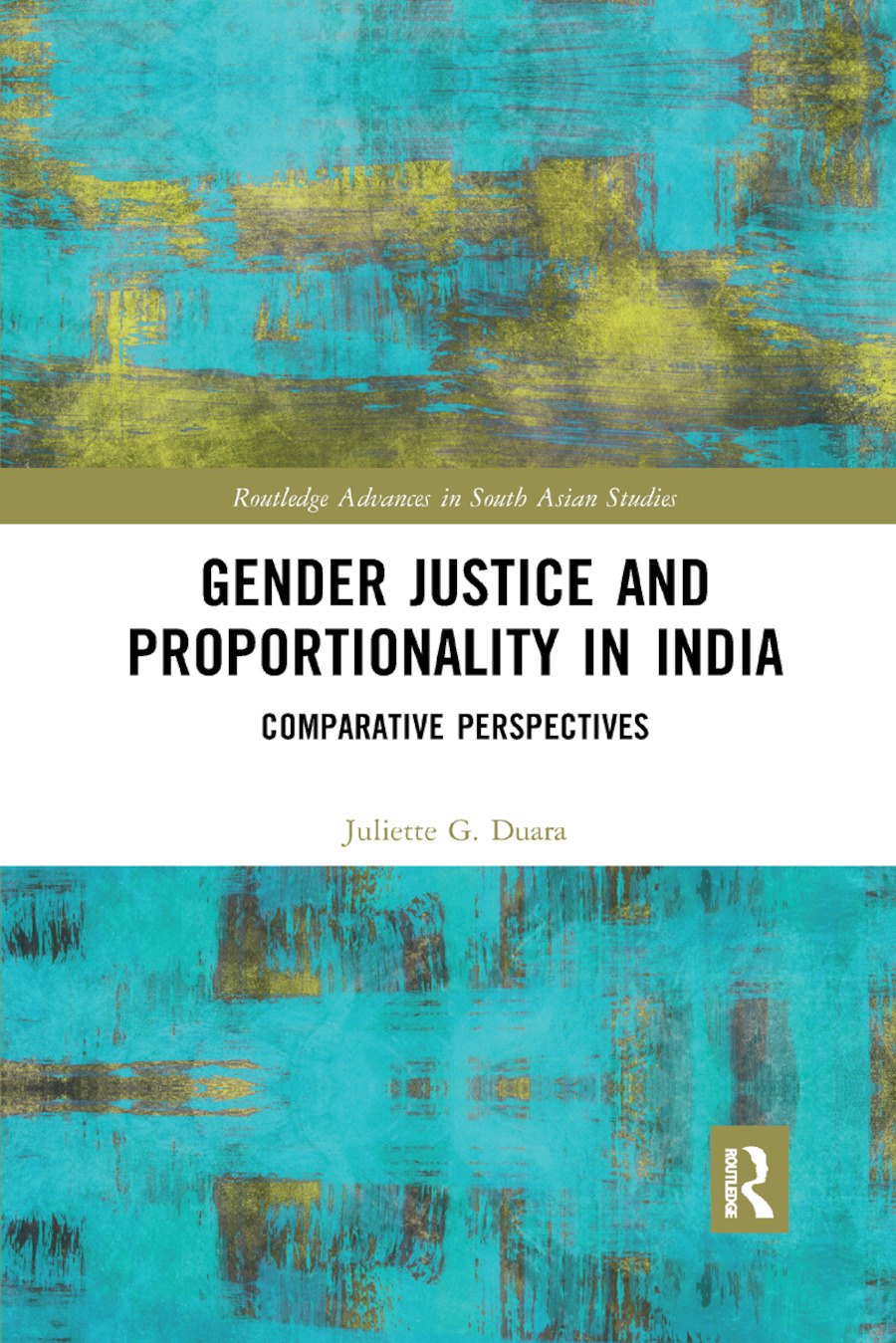 Gender Justice and Proportionality in India: Comparative Perspectives book cover