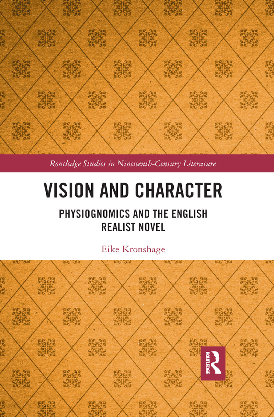 Vision and Character: Physiognomics and the English Realist Novel book cover