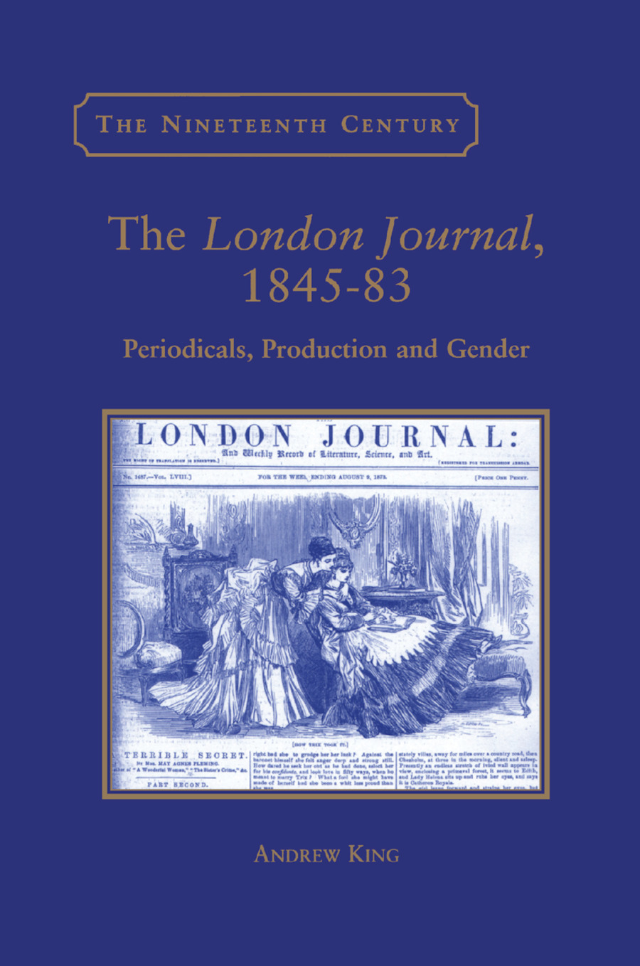 The London Journal, 1845-83: Periodicals, Production and Gender book cover